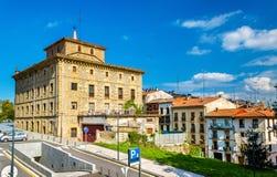 Stadshuset av Irun - Spanien Royaltyfri Bild
