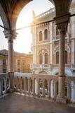 Stadshuset av Padova, Palazzo della Ragione under sommar arkivfoton