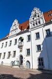 Stadshuset i Meissen, Tyskland Arkivbilder