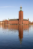 Stadshuset in Stockholm. Royalty Free Stock Photos