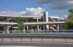 Stadshuvudväg Arkivfoto
