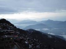 Stadsiktshotell Darjeeling Royaltyfria Bilder