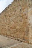 stadsjerusalem gammala väggar Arkivbilder