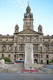 Stadskamers in George Square, Glasgow, Schotland Royalty-vrije Stock Foto