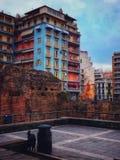 Stadskleuren stock afbeeldingen