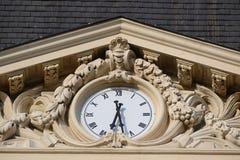 Stadsklocka royaltyfri foto