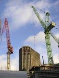 stadskonstruktion london arkivfoton
