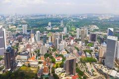stadsKuala Lumpur malaysia sikt arkivbilder
