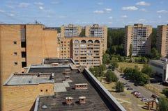 Stadskvarter arkivbilder
