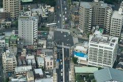 Stadskvarter i Tokyo Royaltyfri Foto