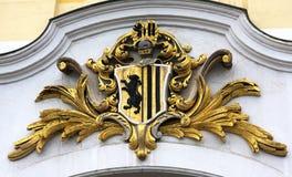 Stadslaag van wapen-Dresden Royalty-vrije Stock Afbeeldingen