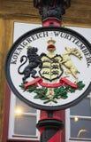Stadslaag van wapen-ii-Waiblingen Stock Afbeelding