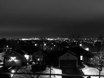 stadslampor Royaltyfri Fotografi