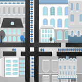 04 Stadslandschap Royalty-vrije Stock Afbeelding