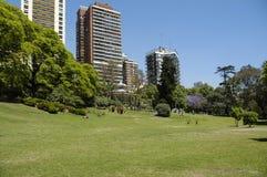 Stadslandschap Belgrano Stock Afbeeldingen