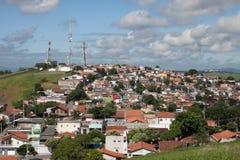 Stadslandschap - Huizen 2 - Dos Campos van Saojose Stock Afbeeldingen