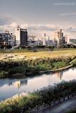 stadslandskap Arkivbild
