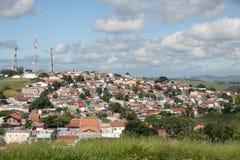 Stadslandskap - hus - Sao Jose Dos Campos Royaltyfri Bild