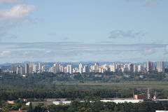 Stadslandskap 4 - Sao Jose Dos Campos Arkivbild