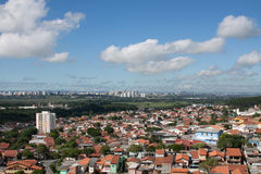 Stadslandskap - Sao Jose Dos Campos Arkivbild
