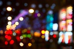 Stadslichten stock fotografie