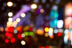 Stadslichten stock afbeeldingen