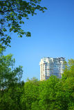 stadsliggande Arkivbild