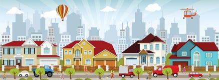 Stadsliv Arkivbild