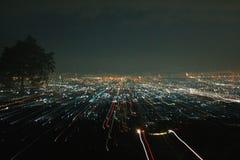 Stadsljus arkivfoto