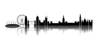 stadslondon horisont arkivfoton