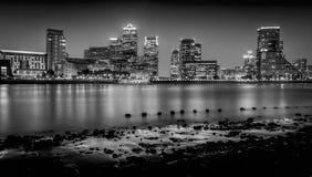 stadslondon natt Royaltyfri Bild