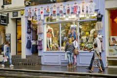stadslondon shopping Royaltyfria Foton