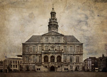 stadsmaastricht Nederländerna royaltyfri fotografi