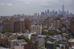 stadsmanhattan ny horisont york Royaltyfri Bild