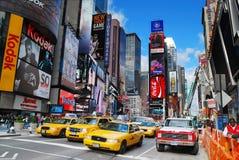stadsmanhattan nya fyrkantiga tider york arkivbilder