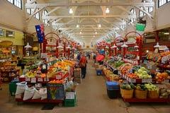 Stadsmarknad i St John, New Brunswick, Kanada royaltyfria bilder