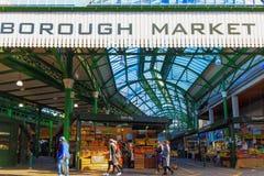 Stadsmarkt in Londen Stock Foto