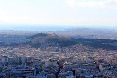 Stadsmening van Athene, Griekenland stock foto
