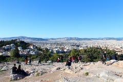 Stadsmening van Athene, Griekenland stock fotografie