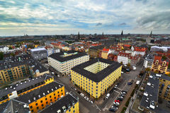 Stadsmening van Kopenhagen Royalty-vrije Stock Afbeeldingen