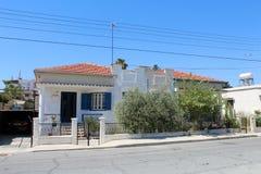 Stadsmening van Larnaca, Cyprus stock afbeeldingen