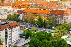 Stadsmening van München, Beieren, Duitsland Royalty-vrije Stock Foto