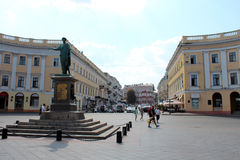 Stadsmening van Odessa, de Oekraïne royalty-vrije stock foto's