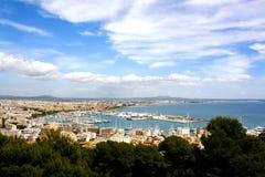 Stadsmening van Palma, Spanje Stock Afbeelding