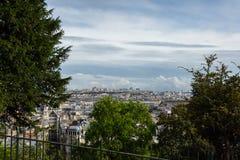 Stadsmening van Parijs, Frankrijk, Europa royalty-vrije stock fotografie