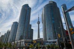 Stadsmening van Toronto stock afbeeldingen