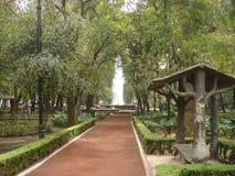 stadsmexico park Fotografering för Bildbyråer