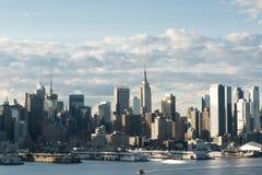 stadsmidtown New York Fotografering för Bildbyråer