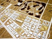 Stadsmodel Vector Illustratie