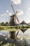 Stadsmolen Leiden Royalty-vrije Stock Fotografie
